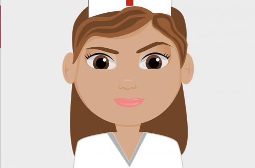 belle bulle d'une infirmière