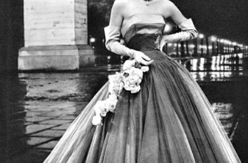 La fameuse robe de soirée ou robe cocktail parisienne