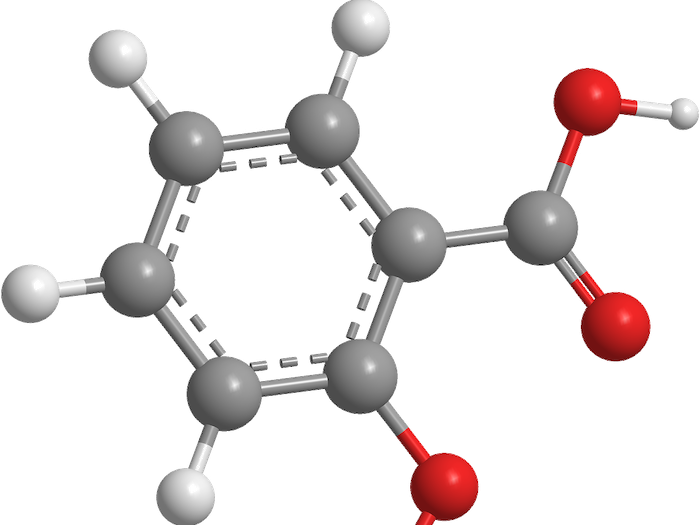 molecule de l'aspirine