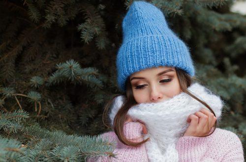 Snood en laine pour femme